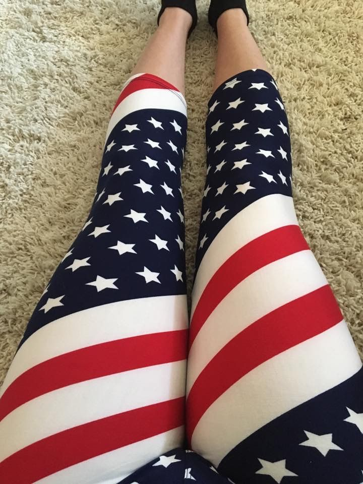 Get your July 4th legging army