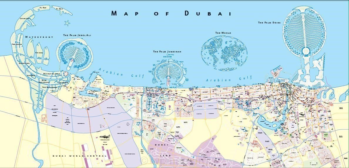 Dubai On The World Map Dubai On World Map Dubai Map Map Pictures
