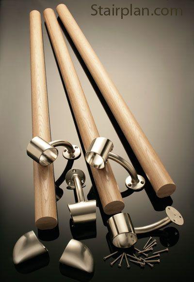 Best Fusion Boxed Rail Kit Stair Handrail Handrail Wood 400 x 300