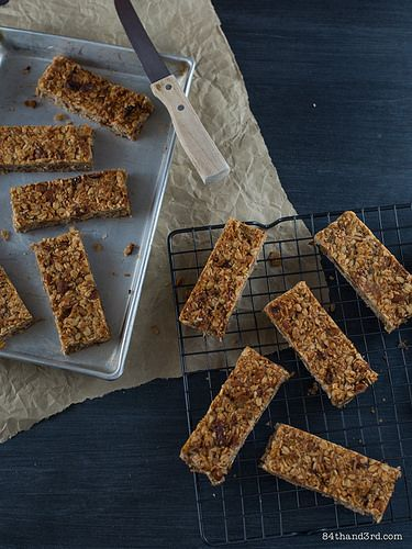 Roasted Banana, Coconut & Oat Bars by 84thand3rd, via Flickr