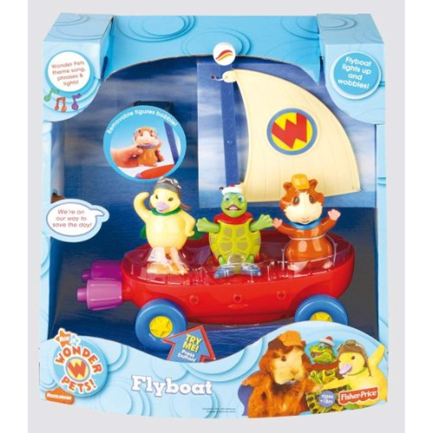 Fisher Price Wonder Pets Fly Boat Learn More By Visiting The