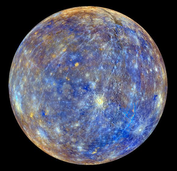 Planet Mercury Spins Faster Than Expected 9/15/15 by Sci-News.com