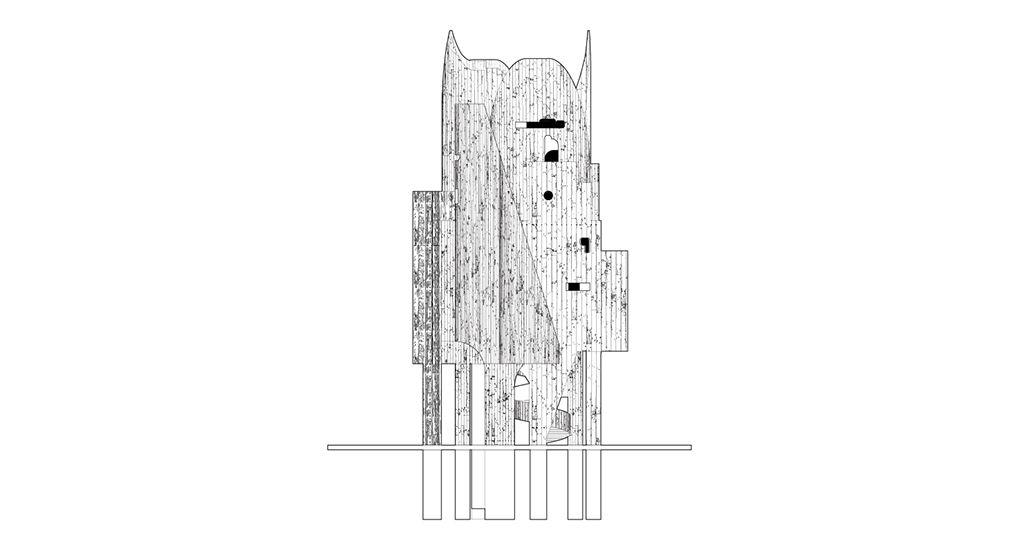 Bureau Spectacular Jimenez Lai Architecture Drawing Designs To Draw Design