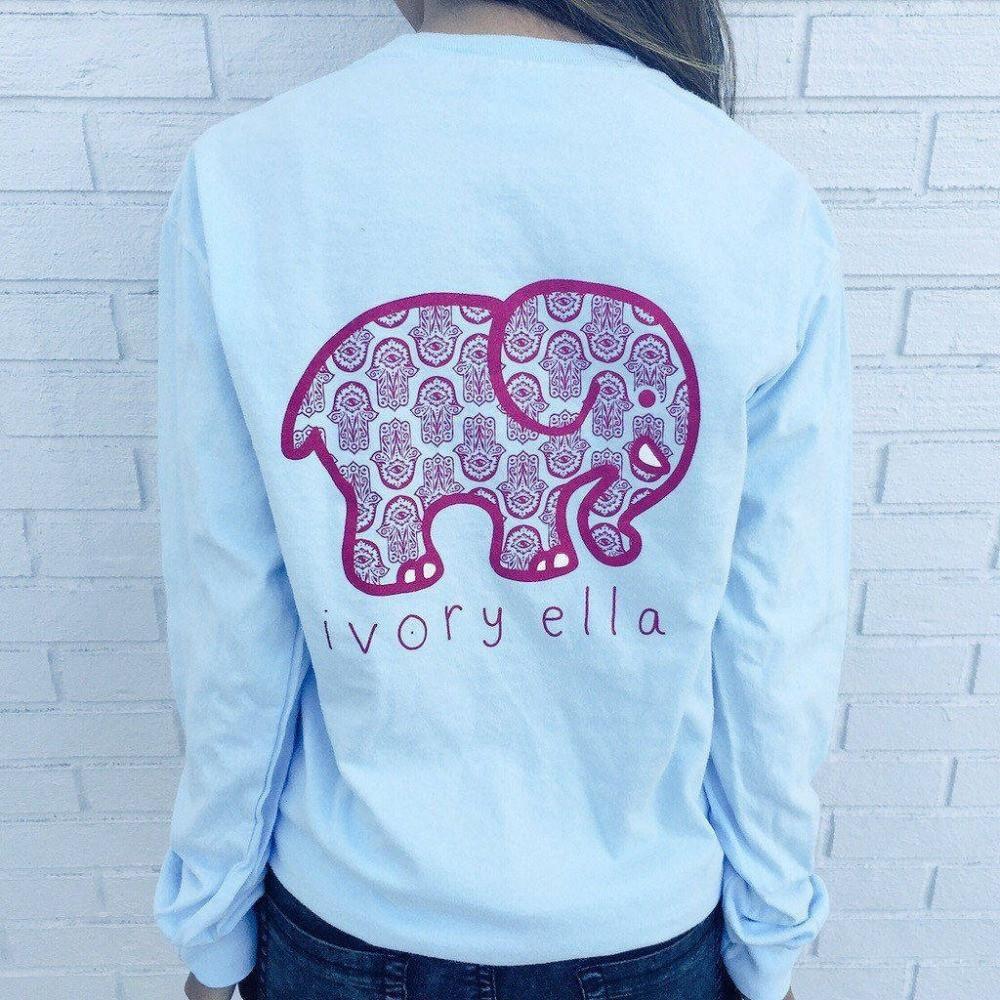 Ivory Ella Elephant Galaxy Sweatshirt Beautiful Things For Mom