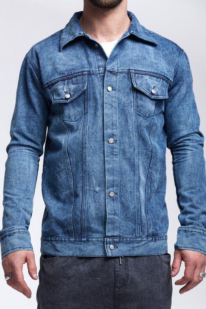 Moe Denim Jacket - Blue