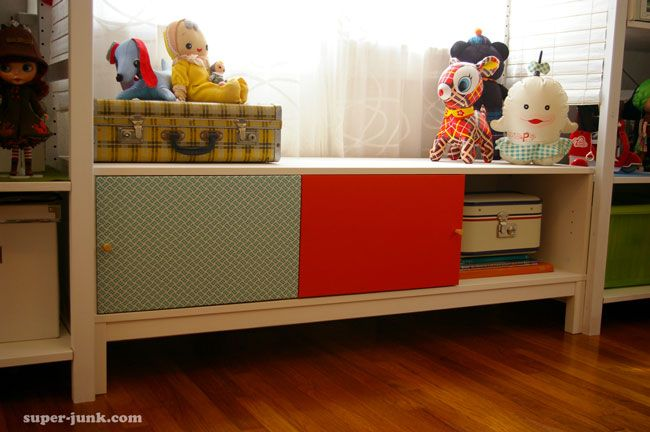 Cute window seat for toys