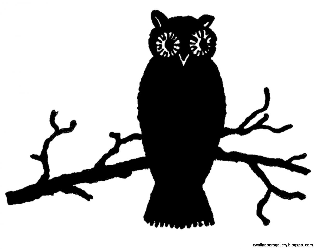 halloween owl clip art black and white | wallpapers gallery