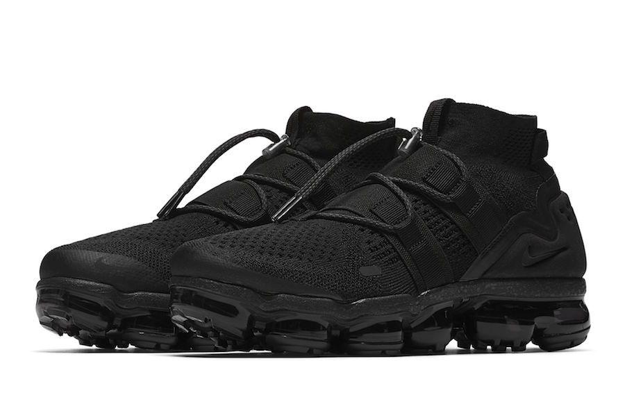 54547f92580da First Look  Nike Air VaporMax Flyknit Utility Triple Black