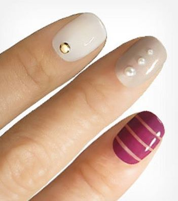 Maximize your mani with classic colors, sophisticated beads and beautiful baubles!  #teelieturner #beauty #nails #teelieturnershoppingnetwork   www.teelieturner.com