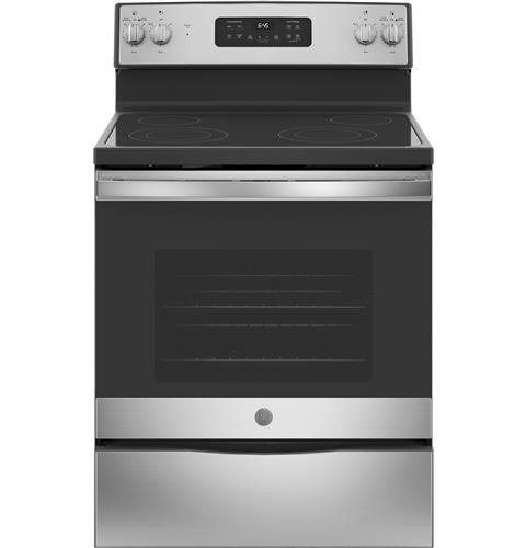 Final 549 From State Street Electric Ge 30 Free Standing Electric Range Jb645rkss Ge Appliances Electric Range Ge Appliances Free Standing