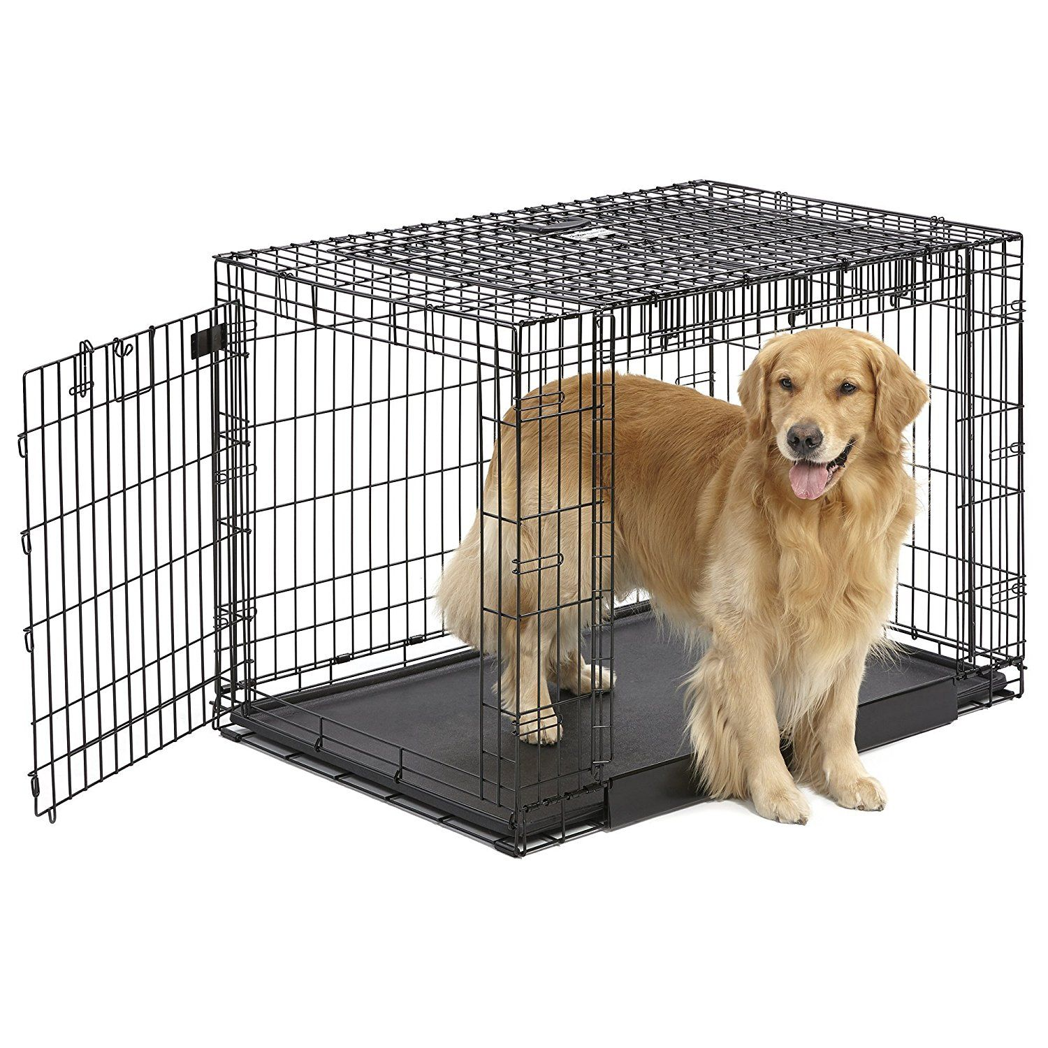Midwest Homes For Pets Ovation Dog Crate Tried It Love It Click The Image Dog Carrier Dog Crate Dog Fence Dogs