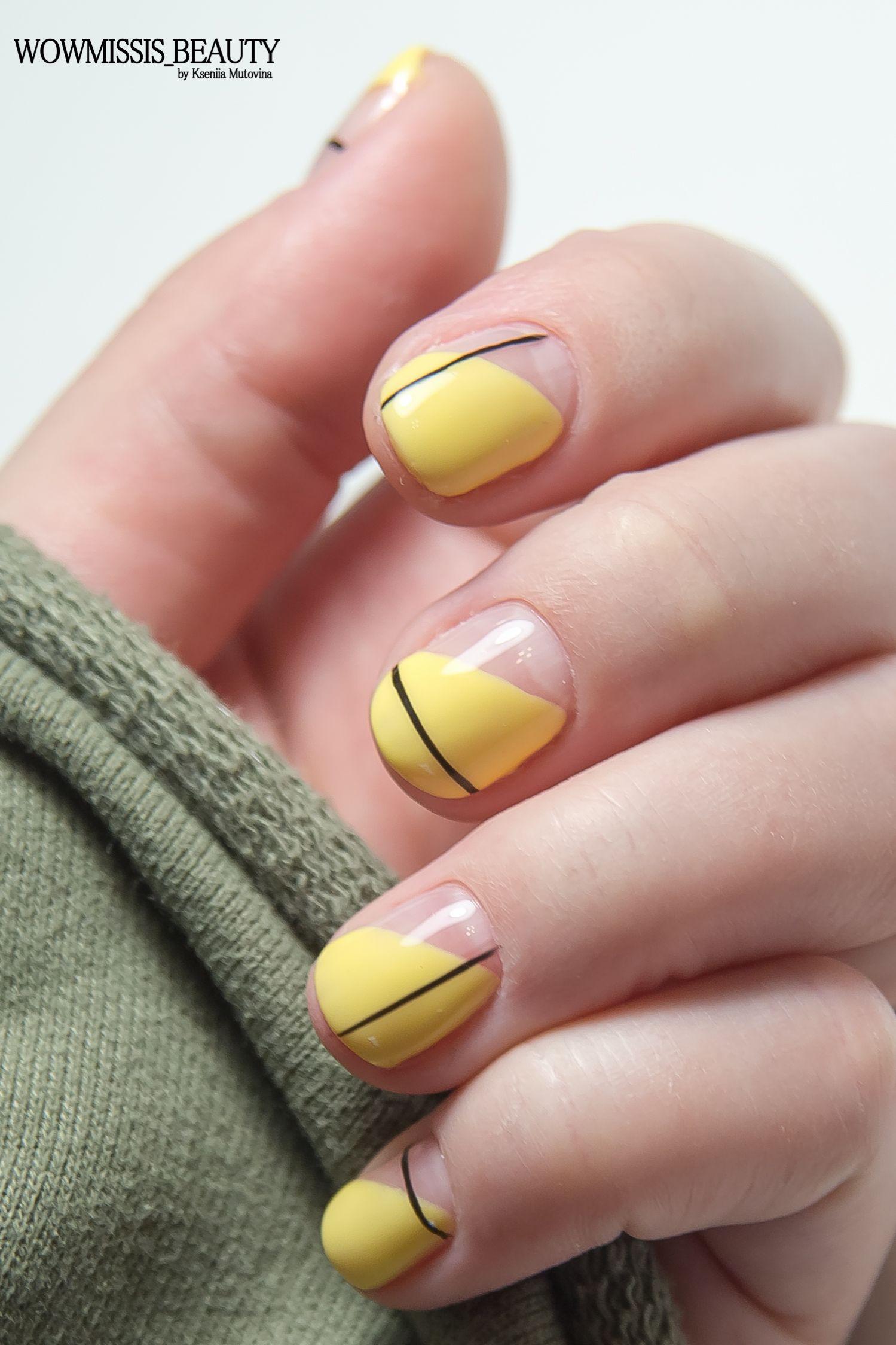 Дизайн Маникюра На Очень Короткие Ногти