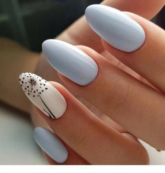 10 Spring Nail Designs That Will Make You Excited For Spring – Society19 #Nailspring #nailsspring