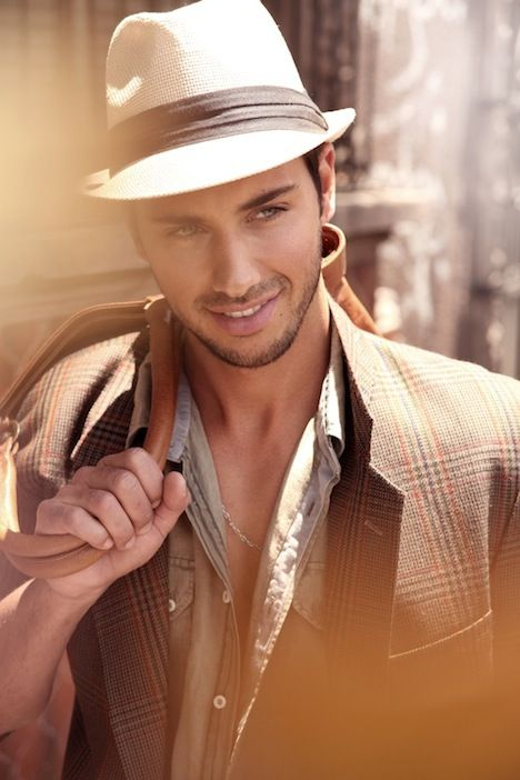 Fedora hat....love hats on men, also....V