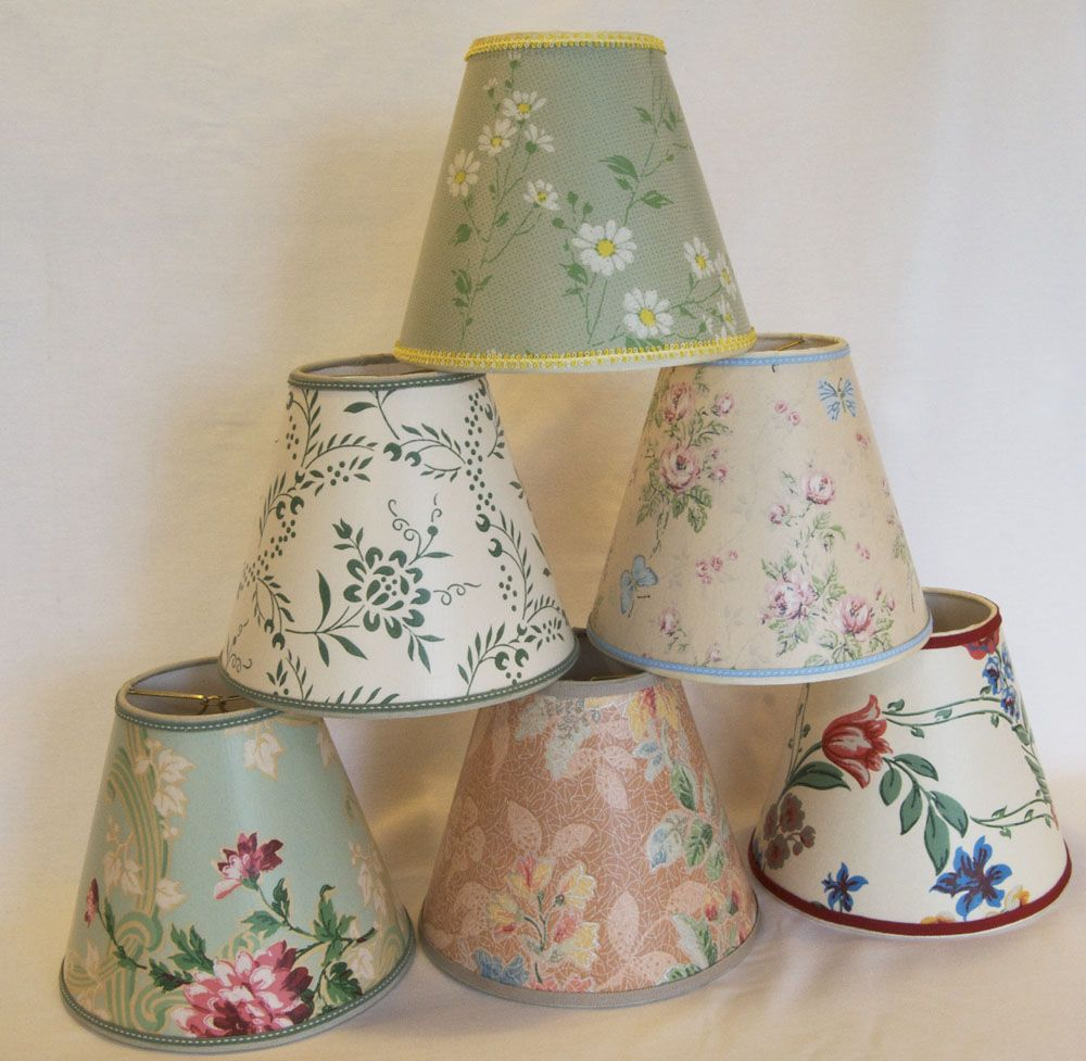 Decorative Lamps When I Started Making Lampshades In The 90 S Vintage Wallpaper