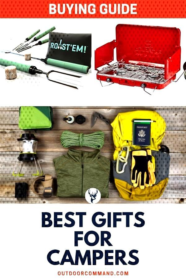 Best Gifts For Campers Best gifts for campers. It can be hard to find the perfect gift that can be