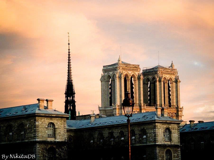 Paris. By NikitaDB. Notre Dame. lV