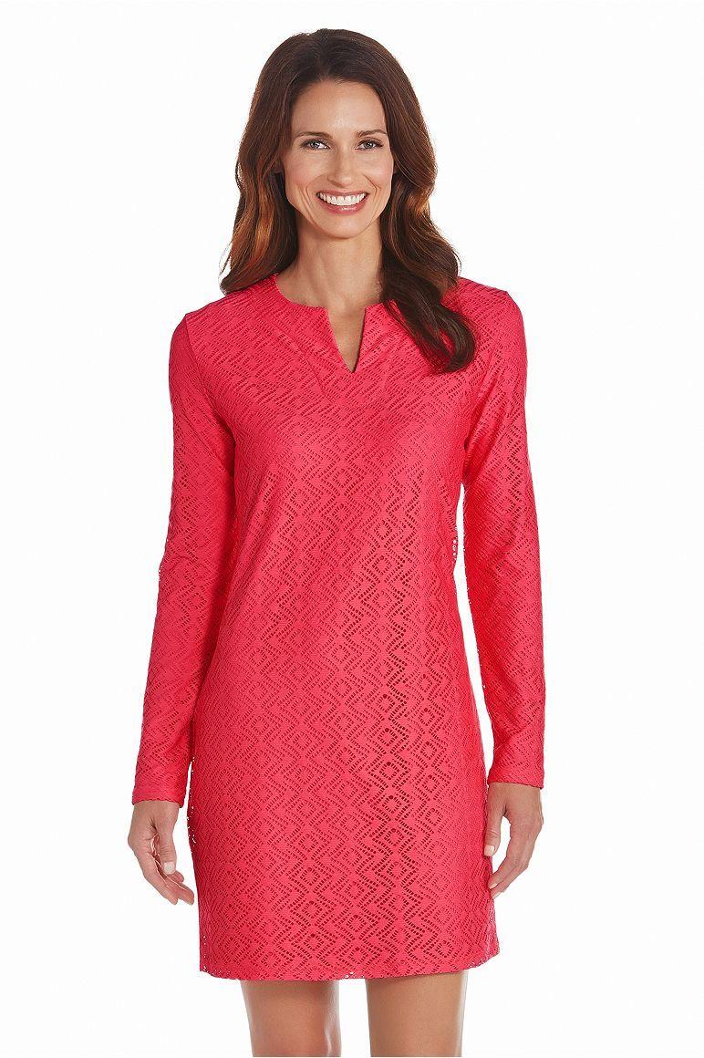 b8c68ec4da0 Womens Diamond Crochet Tunic - UPF 50+  Sun Protective Clothing - Coolibar