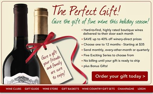Wine club for christmas gifts