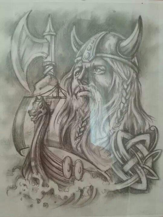 Tattoos germanische mythologie 50 Wikinger