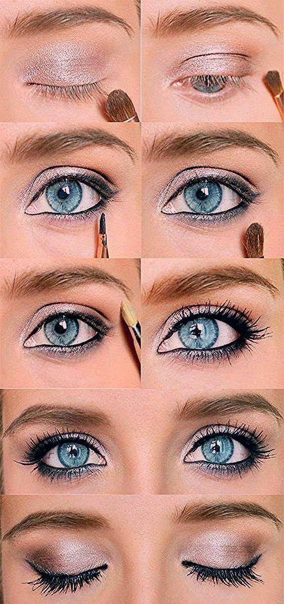 Photo of Wie man Make-Up für blaue Augen schaukelt Ideen