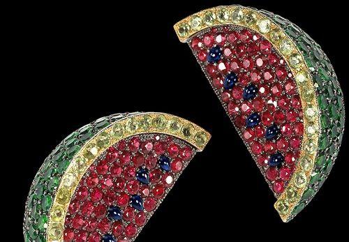 De Grisogono realistic and tasty jewelry