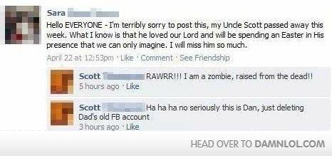 Rawrr, Im A Zombie!