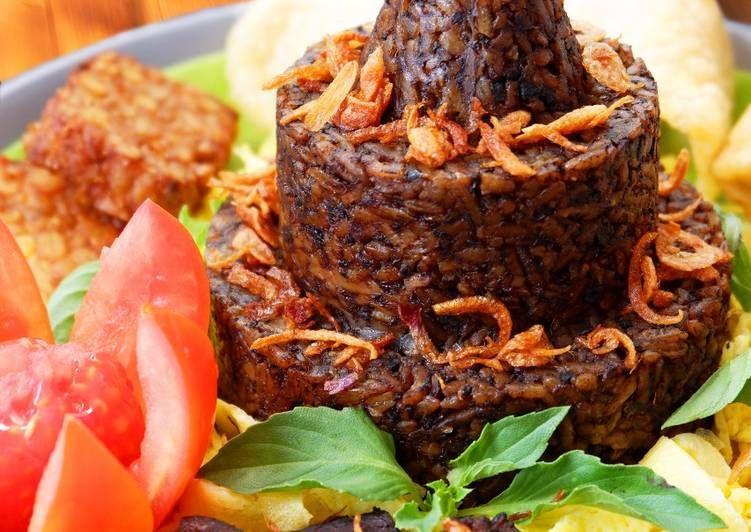 Resep Nasi Bumbu Rawon Oleh Andin S Kitchen Resep Makanan Makanan Dan Minuman Resep Masakan Indonesia