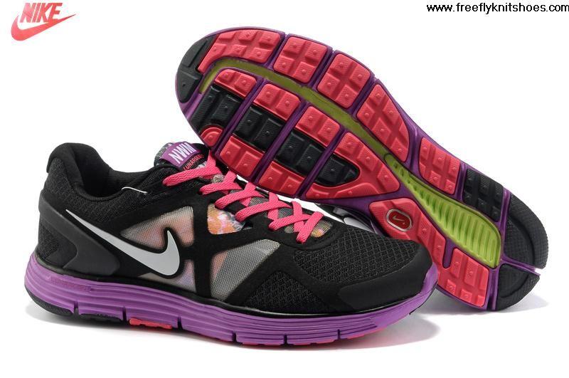 Sale Discount Womens Nike Lunarglide 3 City(San Francisco) Black Purple  Shoes Running Shoes