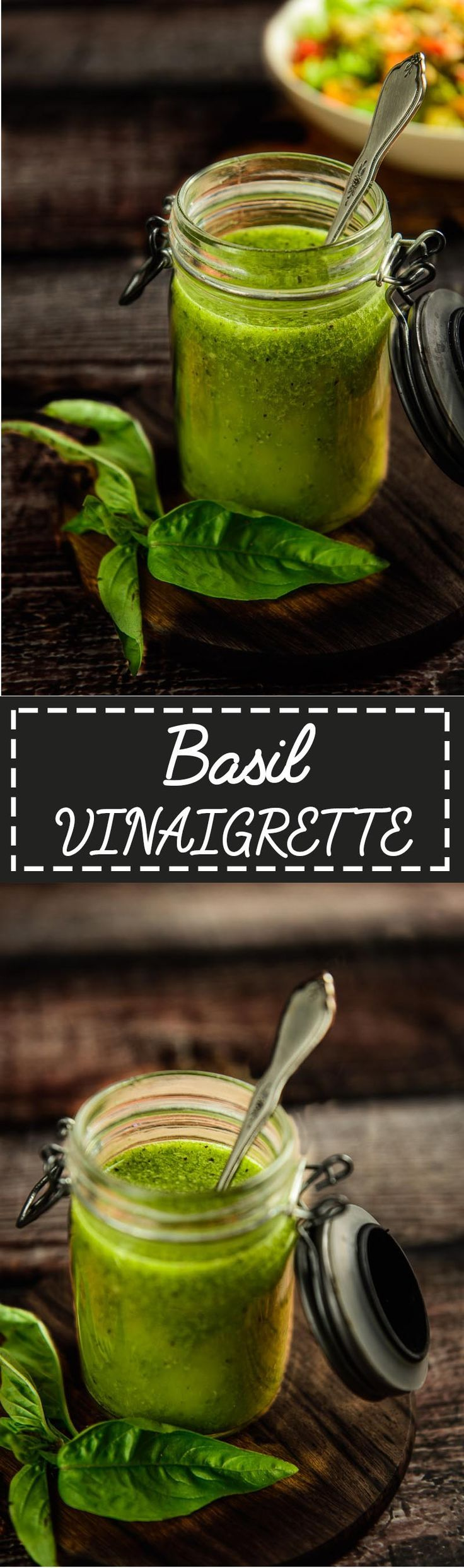 Basil Vinaigrette Is A Simple And Healthy Salad Dressing Made Using Fresh Basil Extra Virg Basil Vinaigrette Vinaigrette Recipes Easy Basil Vinaigrette Recipe [ 2484 x 736 Pixel ]