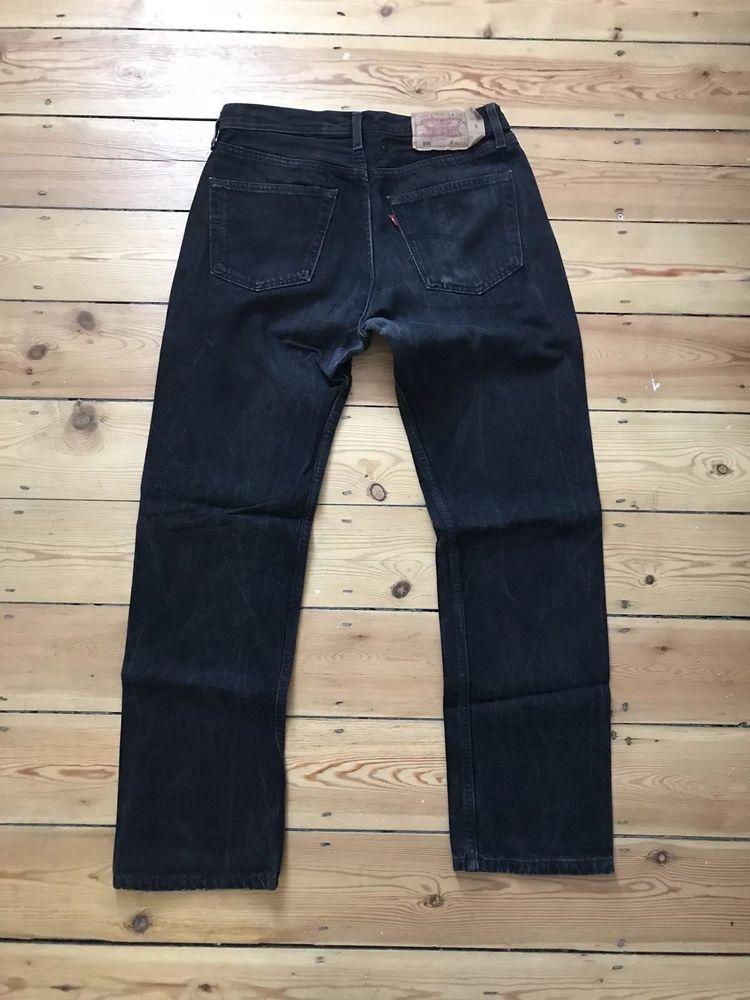 7896b3626df Levi's Men 501 Original Fit Straight Leg Button Fly Jeans Hook Black W31  L30 #fashion #clothing #shoes #accessories #mensclothing #jeans (ebay link)