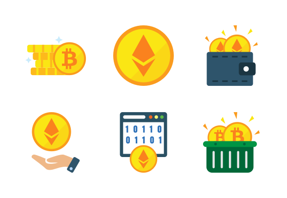 Cryptocurrency Part 1 Icons By Milkghost Studio Finance Icons Cryptocurrency Money Strategy