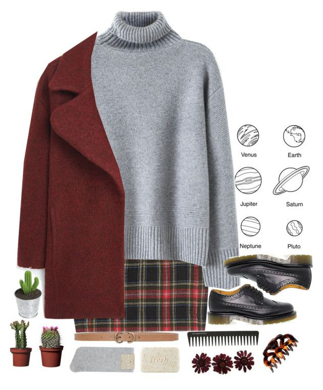 """Untitled #41"" by helooksoperfc ❤ liked on Polyvore featuring Étoile Isabel Marant, MANGO, Dr. Martens, Falke, Max Studio, Fresh, GHD and H&M"