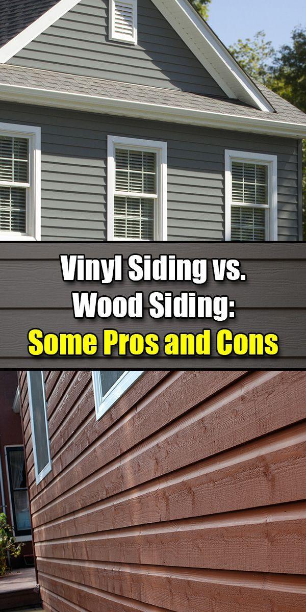 Vinyl Siding vs. Wood Siding Some Pros and Cons Vinyl