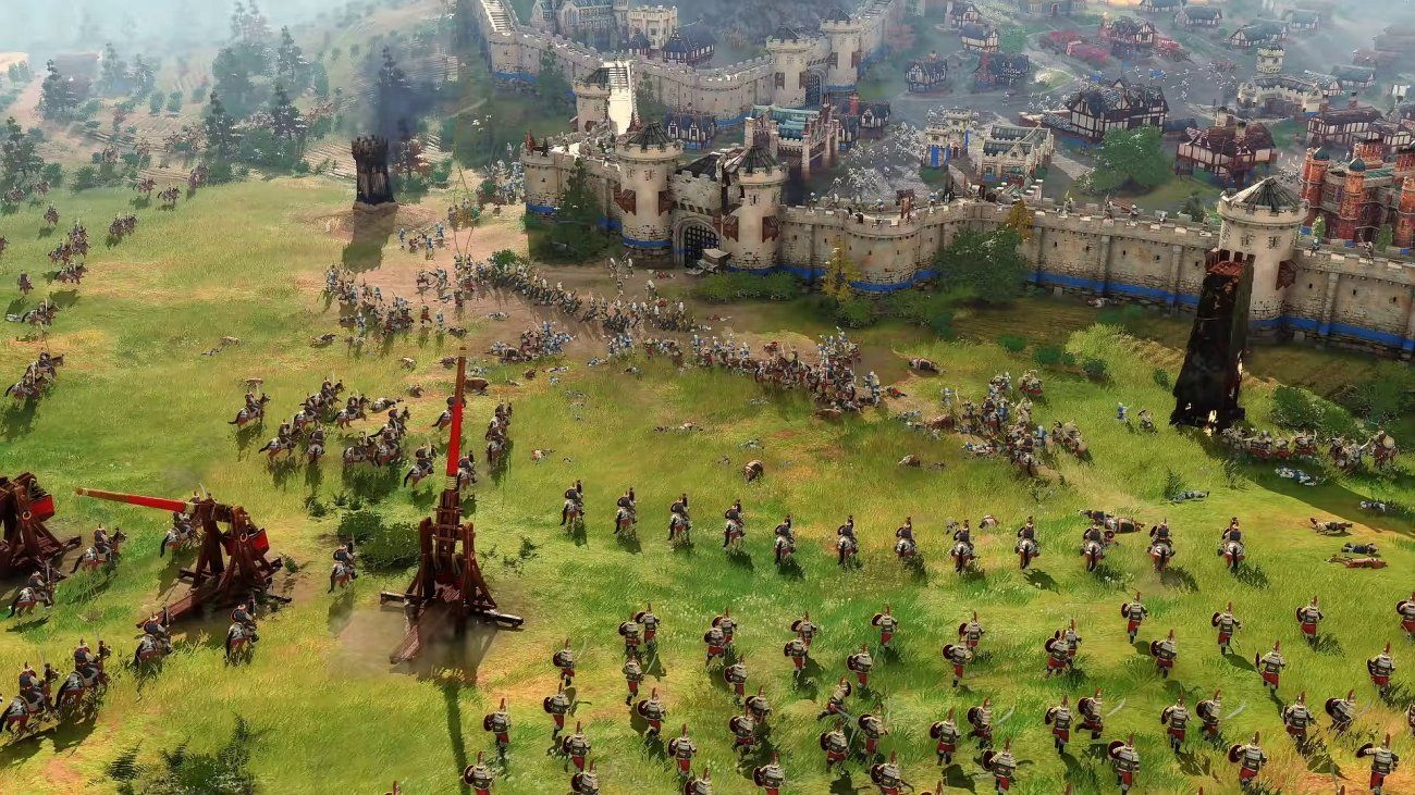 Age Of Empires Iv Will Have Post Launch Dlc S And No Microtransactions Age Of Empire 4 Age Of Empires Real Time Strategy
