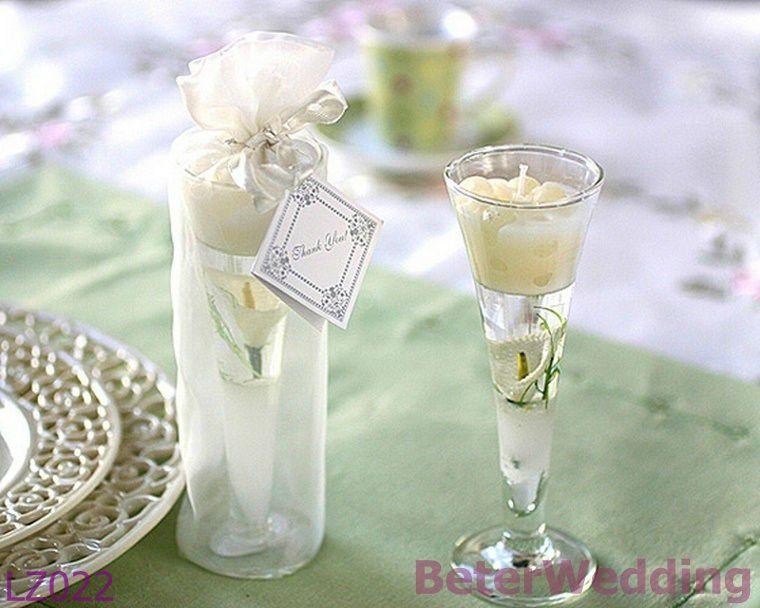 Aliexpress.com : Buy Wedding Favors Garden Glass Gel Candle Calla Lily Wedding  Gifts,