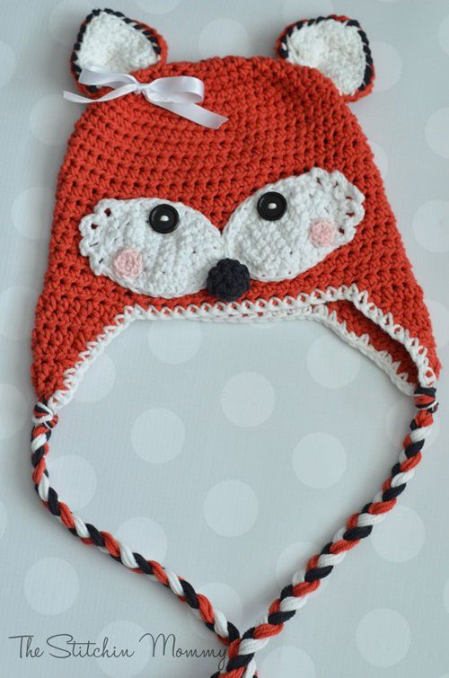 Free Kids Animal Hat Crochet Patterns For Dress-up & Keeping Warm