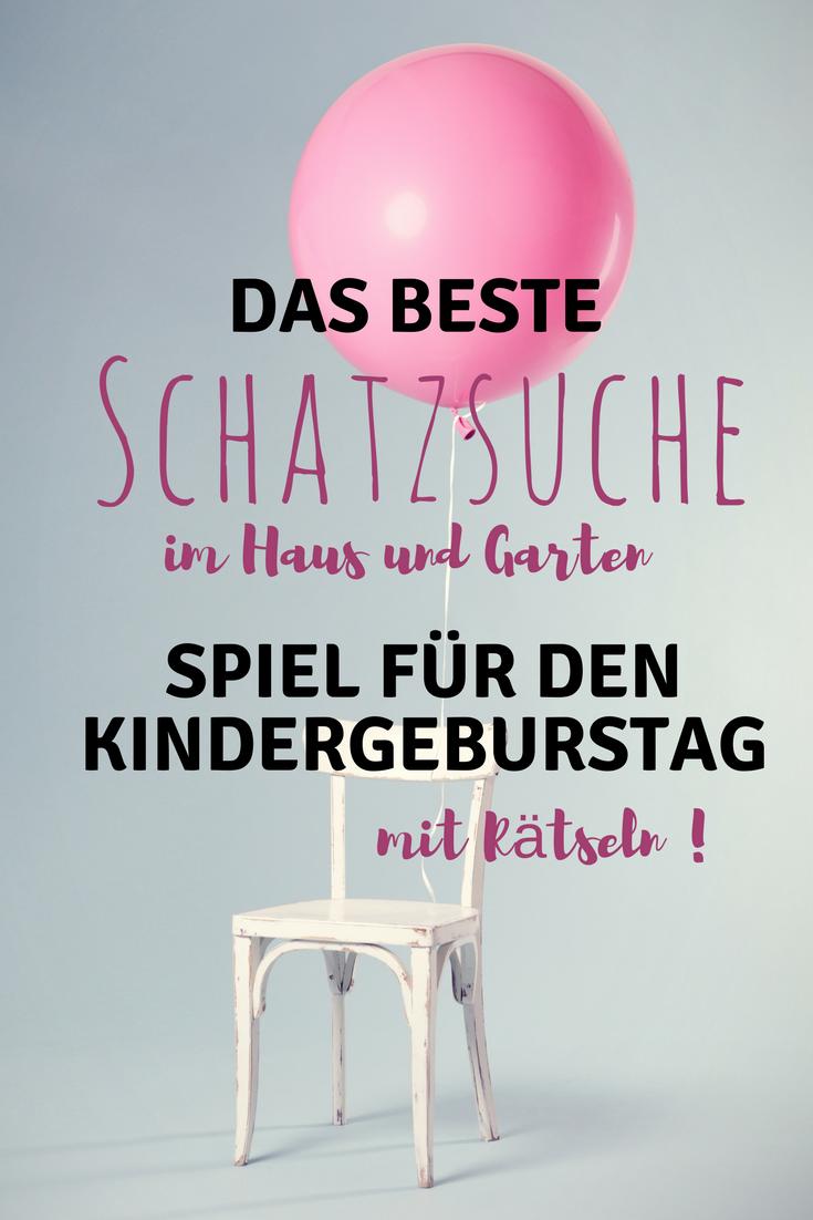 Photo of Ideen für den Kindergeburtstag – Schatzsuche im Haus und Garten