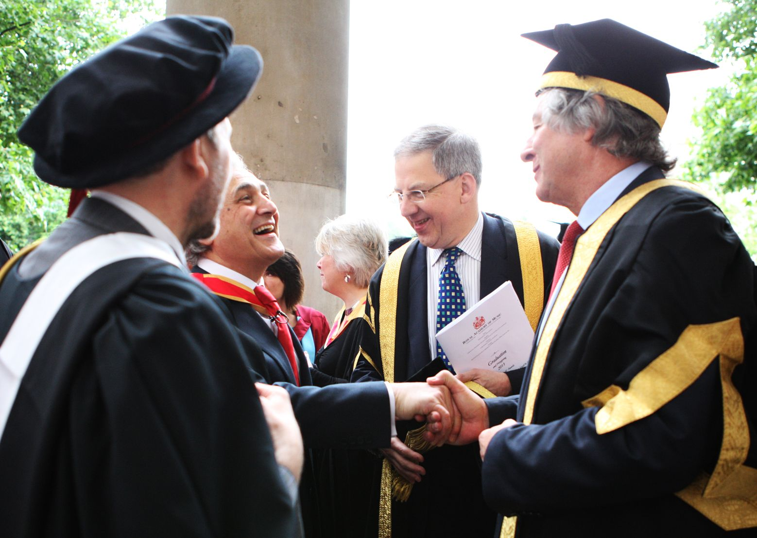 Graduation 2013. © Royal Academy of Music, June 2013