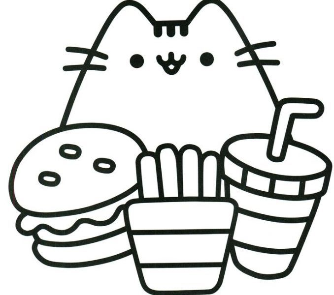 94 Best Pusheen Coloring Book Images On Pinterest Coloring Books Free Printable Pages Cool Easy Easy Coloring Pages Pusheen Coloring Pages Cute Coloring Pages