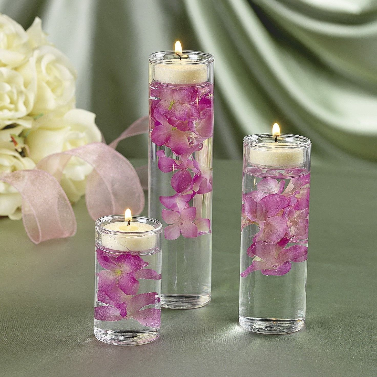 Glass Cylinder Vases for Centerpieces — Contemporary Home