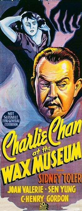 1940's Charlie Chan at the Wax Museum