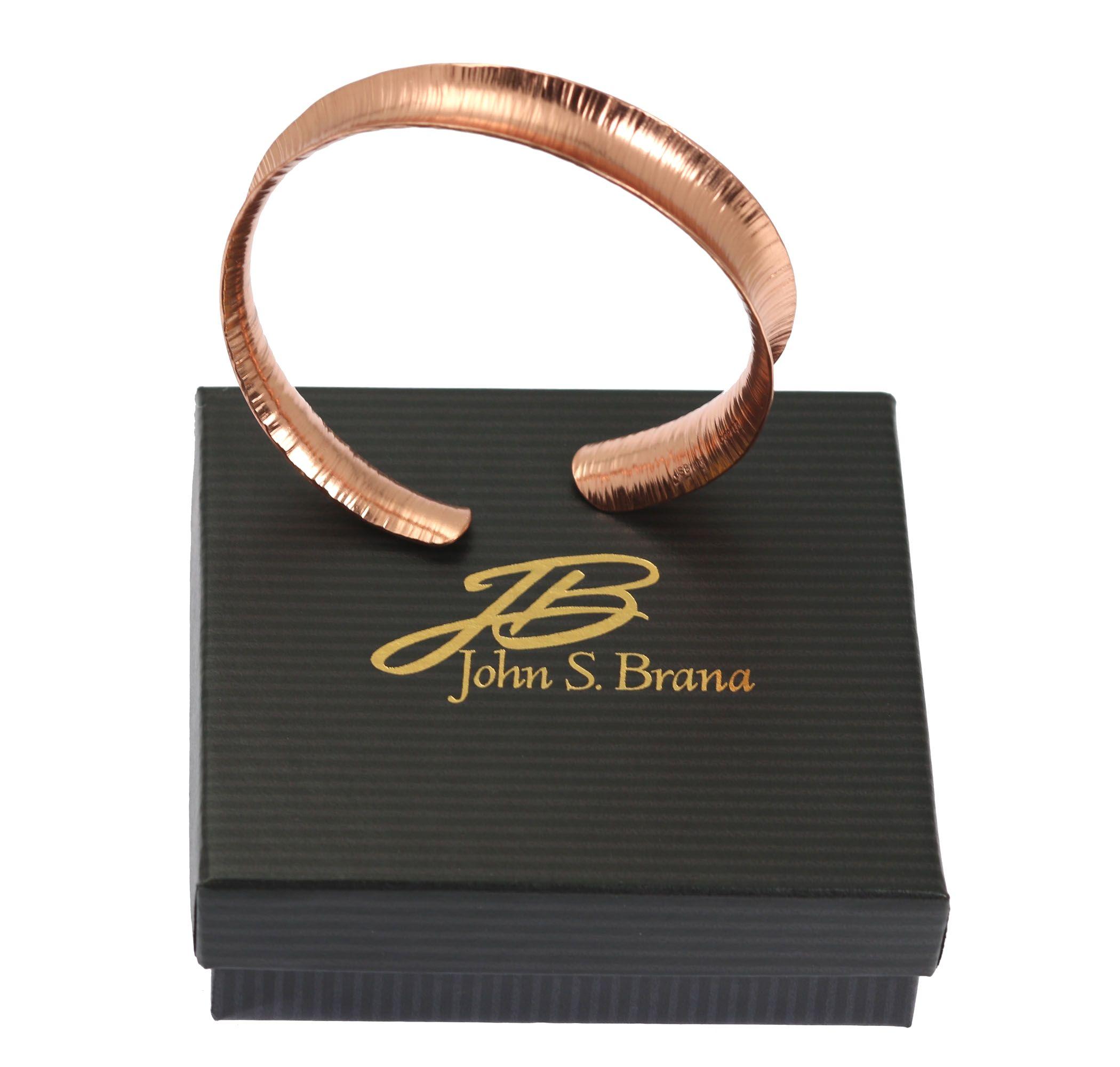 NEW! Unique Anticlastic Chased Copper Bracelet Showcased on #AmazonHandmade #7thAnniversary http://amzn.to/2kM1dua