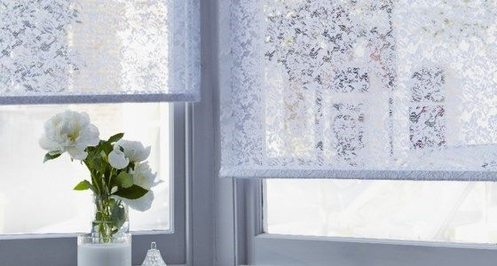 white lace eltringham roller blind colours in 2019 curtains rh pinterest com