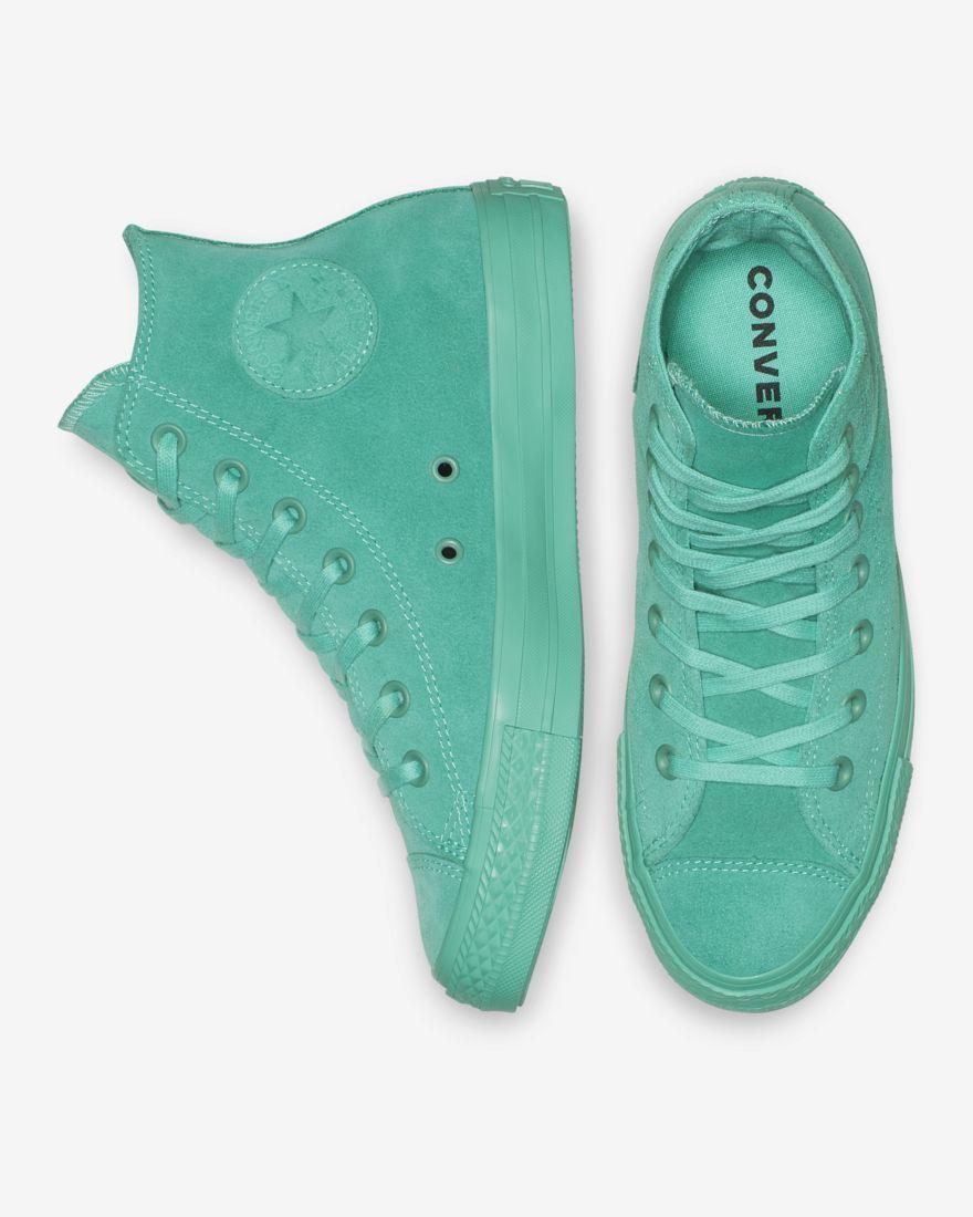 converse all star sneakers camoscio
