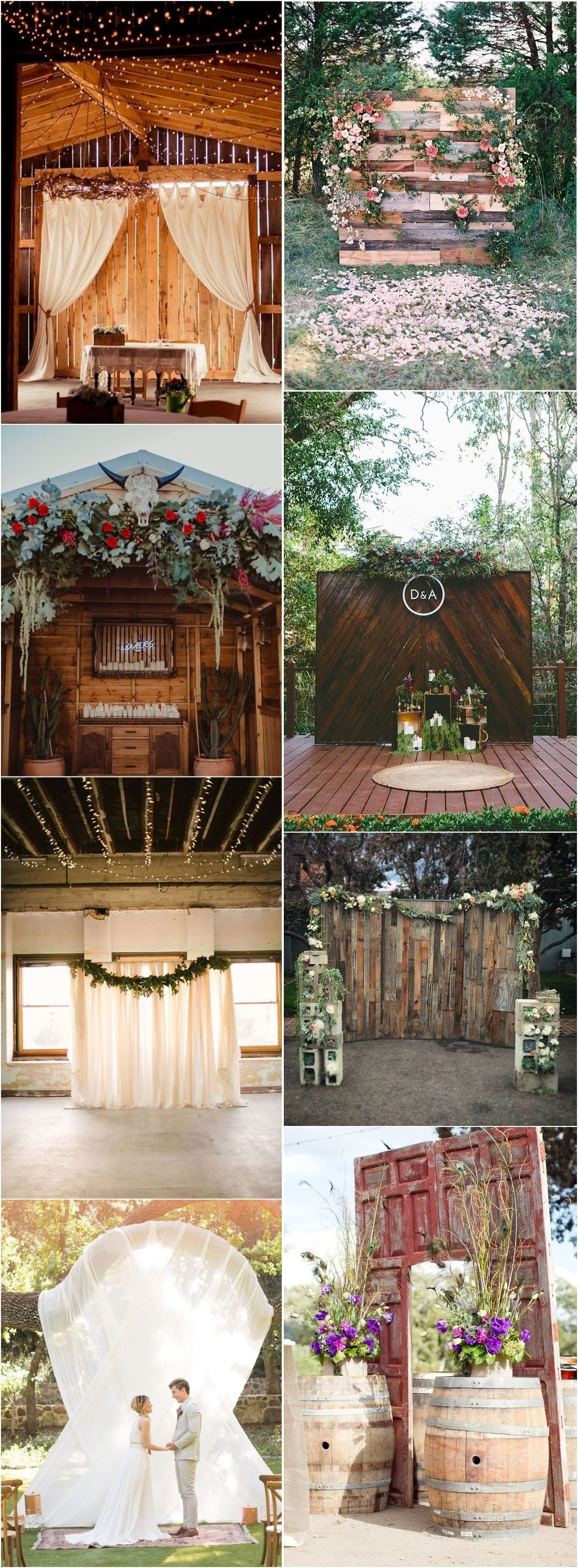 20 best of wedding backdrop ideas from pinterest with