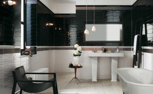 Wandgestaltung Im Bad   35 Ideen Für Badezimmergestaltung Mit Fliesen