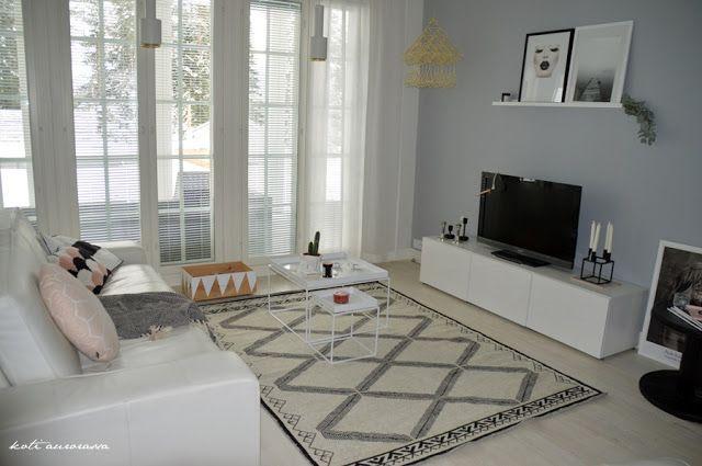 Koti Aurorassa: Olohuoneen uusi ilme (se uusi matto)