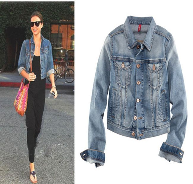 women denim jacket - Google Search | Jackets | Pinterest | Women&39s
