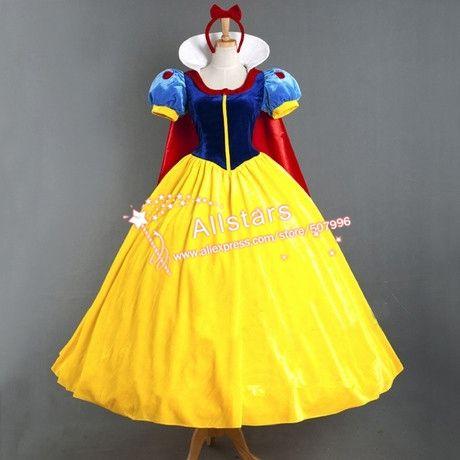 Aliexpress Com Comprar Por Encargo Blancanieves Princesa Vestido De Cosplay Disfr Disfraz Blancanieves Niña Disfraces De Princesas Vestidos De Princesa Disney